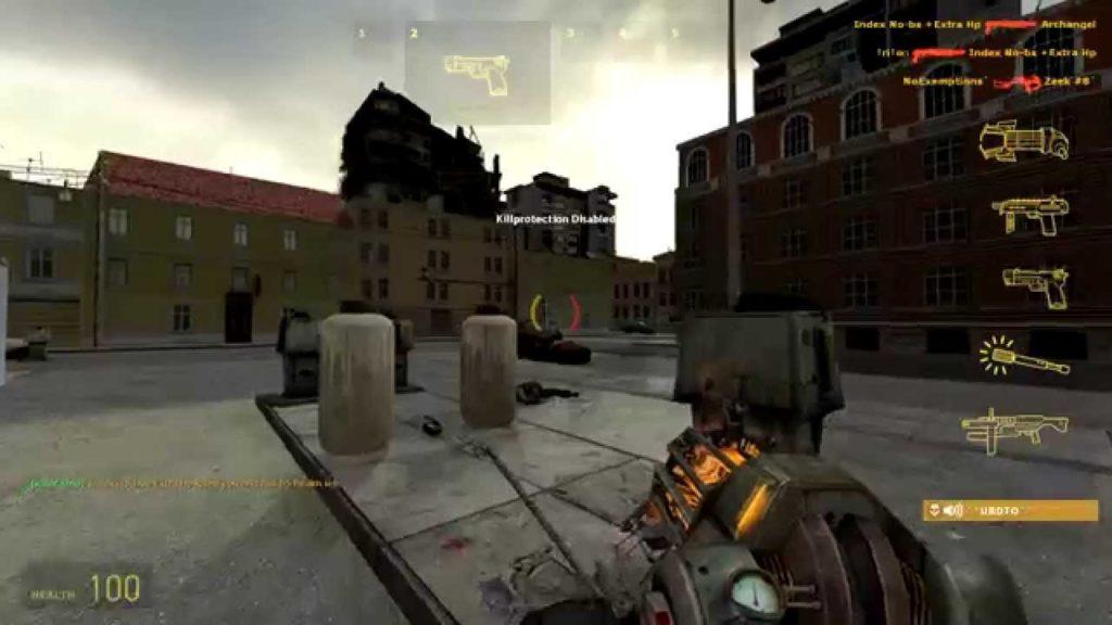 hl2 death match gameplay 1