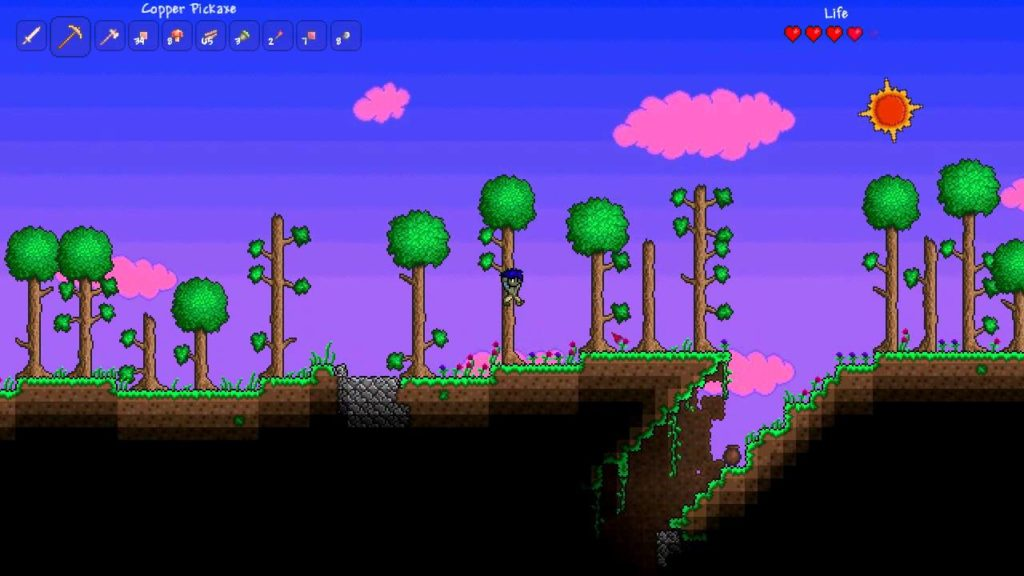 terraria gameplay 1
