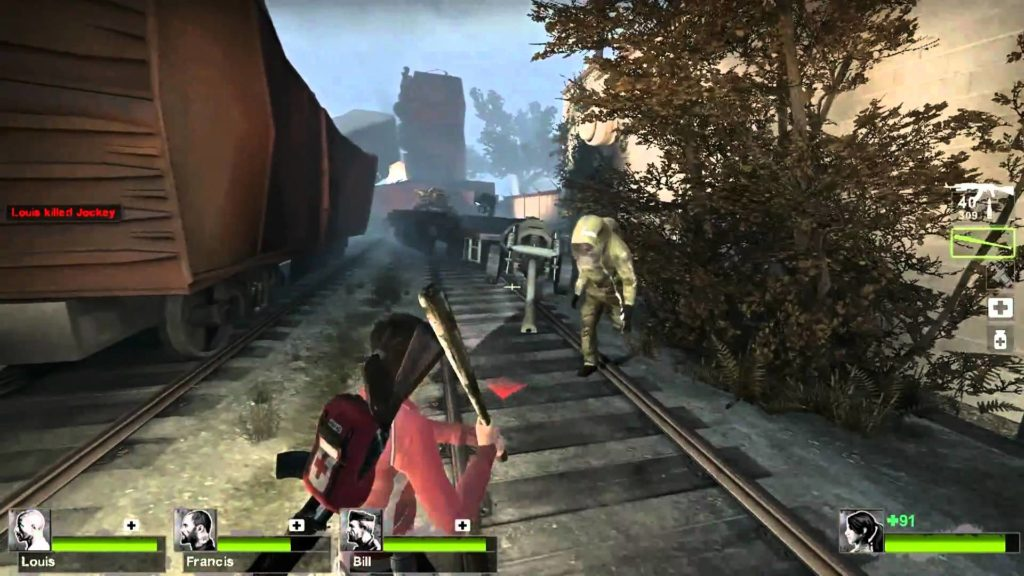 Left 4 dead gameplay 2