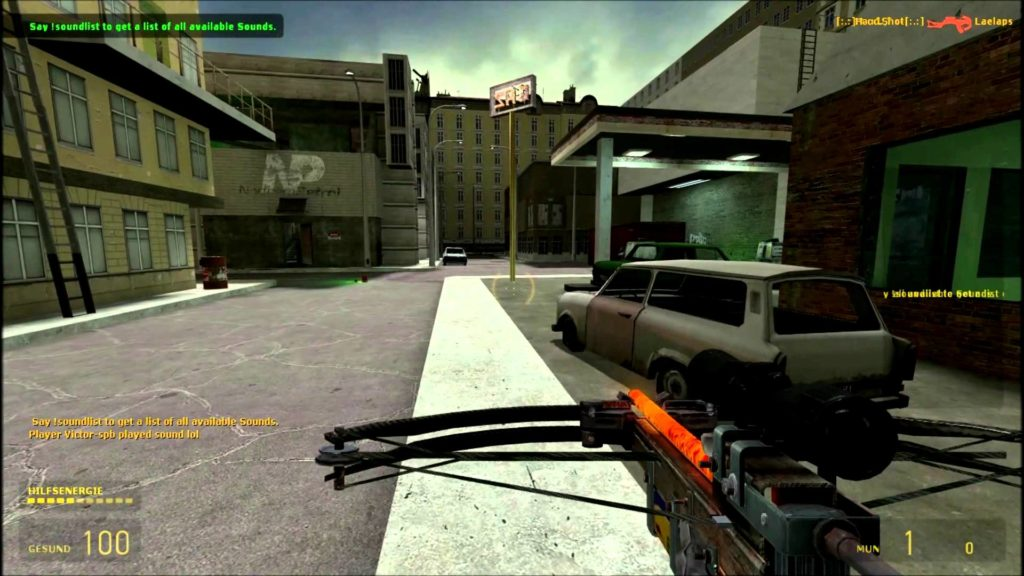 hl2 death match gameplay 2