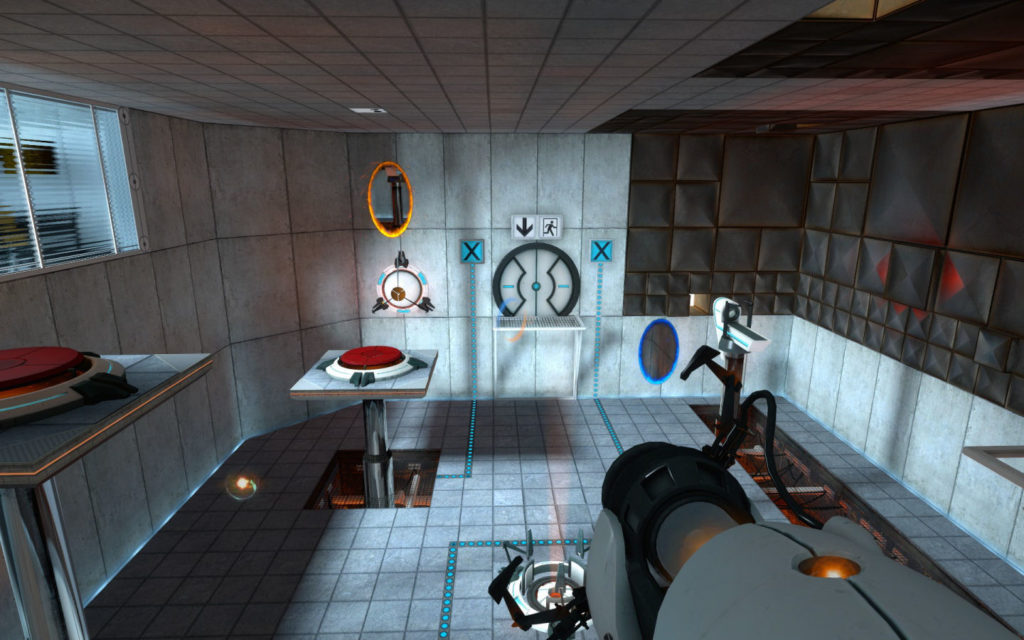 Portal 1 Gameplay 4
