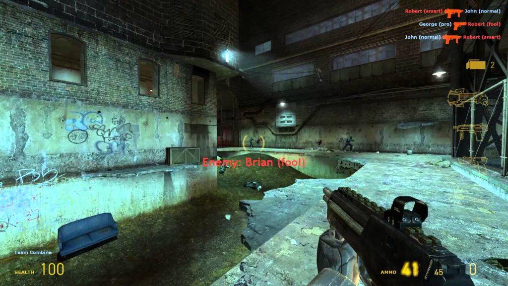 hl2 death match gameplay 4