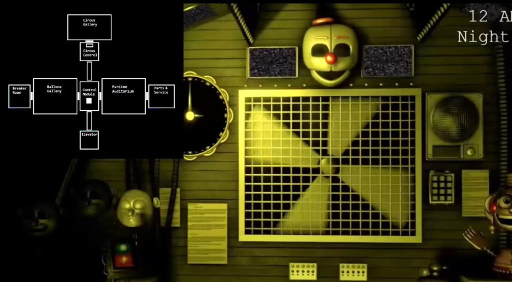 fnaf sister location gameplay 4