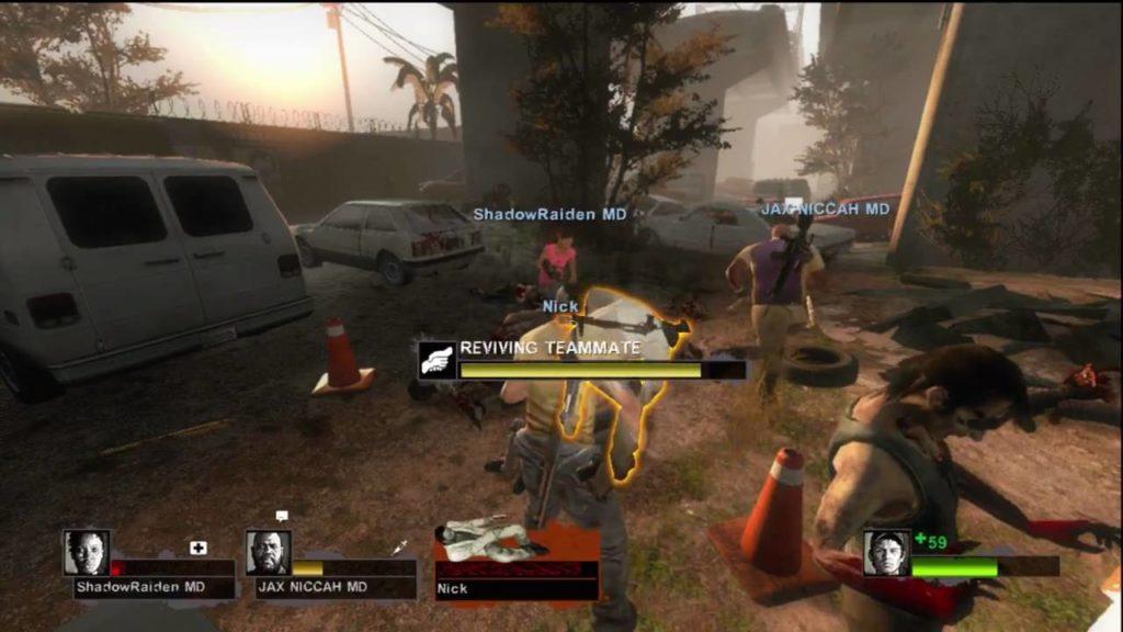 Left 4 dead 2 gameplay